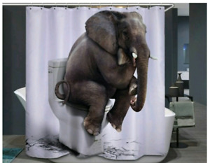 Funny Shower Curtain(New)