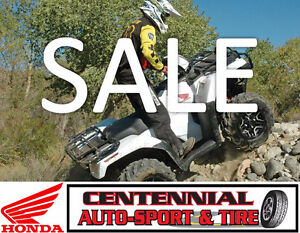 Honda ATV Mega Sale!  Absolute best pricing on Honda ATV's