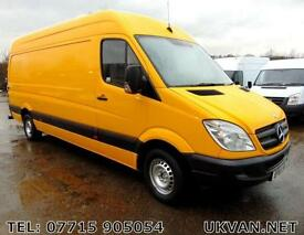 2012 61-REG MERCEDES SPRINTER, 1 OWNER, EX FLEET (DHL), ## VERY TIDY BODYWORK ##
