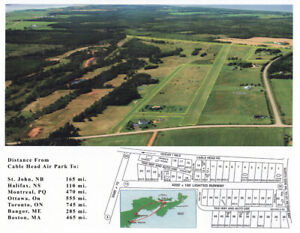 Exclusive to Pilots,  Air-Oriented Lots, Cable Head Airpark, PEI