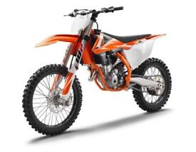 KTM 350 SX-F 2018 VAT Free deal -£100 extra discount - Limited numbers