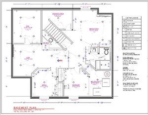 DRAFT & DEZIGN- Layout Planning. Edmonton Edmonton Area image 1