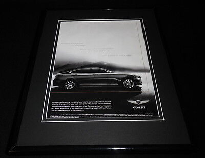 2016 Genesis Framed 11x14 ORIGINAL Advertisement