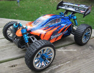 New RC Buggy / Car  Brushless Electric 4WD LIPO 1/16 Scale