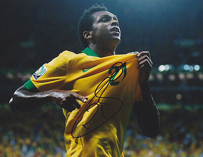 Jo Joao Silva Brazil World Cup Wc 2014 Signed Autograph 8X10 Photo Coa  4