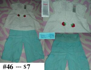 4T Girl's --- Outfit Lot 05