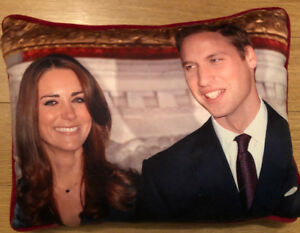 Prince William and Kate Pillow