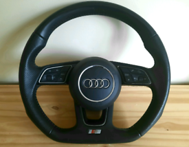 Audi A4 S4 A5 A6 and Flat Steering Wheel | A4 B8 & A4 B9 (2008 - 2020)