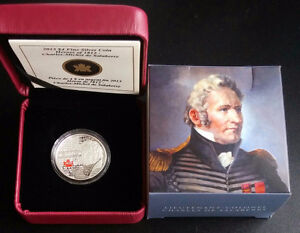 2013 Canada Silver Coin Heroes of 1812 Charles Michel Salaberry