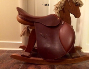 17inch jumping saddle