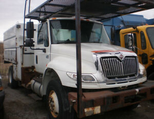 2006 International 4400 Wood Chip Dump Truck