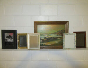 Project vintage frames for photos paintings pictures