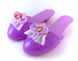 Sofia The First Purple Plastic Slippers Shoes Heels Toy Disney