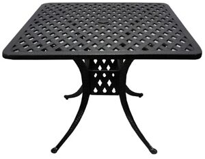 Pickering DOT Patio Platinum+H.Brown Cast Furniture NOW 50%OFF