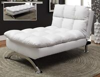★ LORD SELKIRK FURNITURE - SUSSEX KLIK KLAK - WHITE OR BLACK