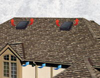 Warranty on all our roofing services,ask us about our vents