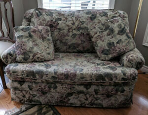 Two Love Seats with Pull Out Beds
