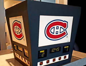 Montreal canadians SCOREBOARD LIGHT