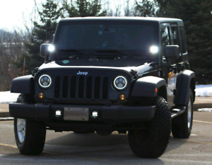 Jeep Front LED turn signals