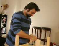 Furniture Assembly, TV Wall Mount, Curtain Rod Installation