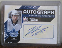 Autographed Hockey Card