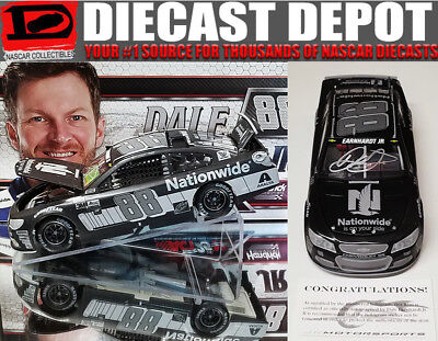 Autographed Dale Earnhardt Jr 2017 Nationwide Insurance Stealth Series 1 24
