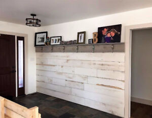 Barn Board (Antiqued Pine)- Ship lap-Accent Walls