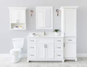 Stonewood Bathroom Linen Tower