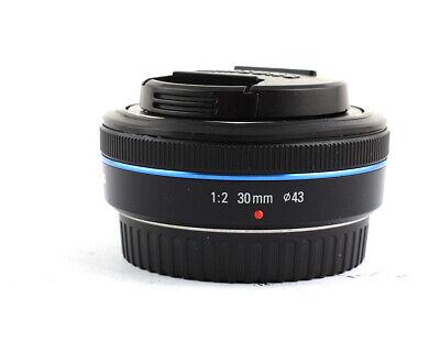 Samsung NX 30mm f/2 Lens (Black)