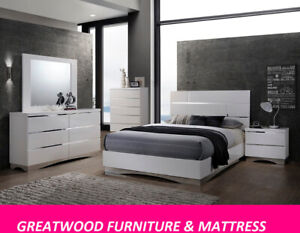 MODERN STYLE 6 PCS QUEEN BEDROOM SET FOR SALE $1299...