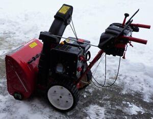 "Snow blower Troy Bilt 24"" 277cc"