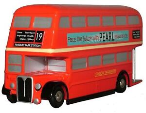 AEC RT LONDON BUS in Red PICCOLO 1/90 scale model by SCHUCO
