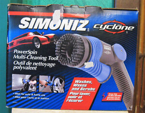 Simoniz Cyclone Power Spin Multi-Cleaning Tool F/S
