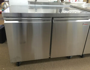 UNDER COUNTER WORK TABLE FRIDGES & FREEZERS & CHEF BASES!!