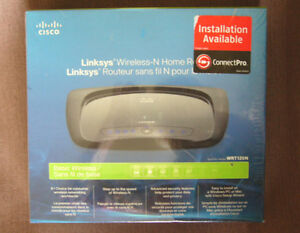 Cisco LinkSys Wireless-N Home Router WRT120N Brand new