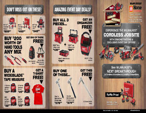 Milwaukee Tool Sales Event - Home Hardware Fort McMurray