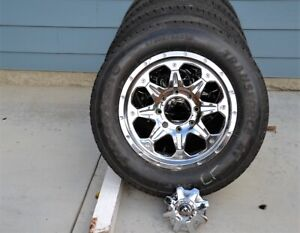 LT285-60-20 on Fuel rims Chev/GMC