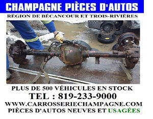 DIFFERENTIEL ARRIERE FORD F150 2000 3.55 RATIO # 146139