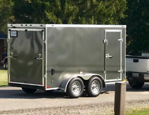 2019 STEALTH TRAILER - tandem axel , 12 ft by 6 ft