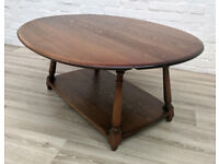 Ercol Drop Leaf Coffee Table (DELIVERY AVAILABLE)