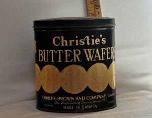 Christie's Butter Wafer Tin