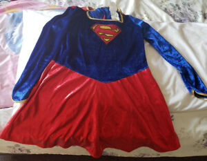 Super Girl Costume in Size L (10-12)- $25