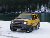 2002 Nissan Xterra SUV, sport package, towing controls included