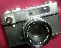 1963 Konica AUTO S rangefinder 35 mm CAMERA Lens 47mm F 1.9
