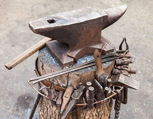 Blacksmith Tools!  Hammers, Tongs, Anvils, Hardy Tools!!