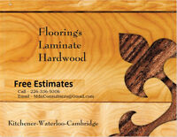 Laminate & Hardwood Floor Installation Job- Premium Quality Work