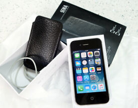 iPhone 4S with posh case in immaculate condition (SIM free)