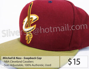 = Mitchell & Ness 'Cleveland Cavaliers' SnapBack Cap (USED) =