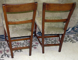 New Price - Pair Mahogany Side Chairs. Antique George III Period Kingston Kingston Area image 3