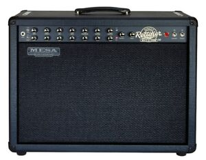 Mesa Combo Signle rectifier Recto-Verb + pedal switch + cover